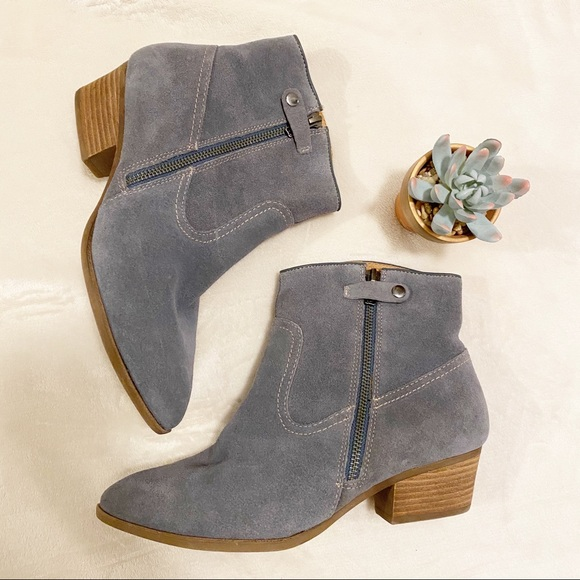 Sofft Shoes | Nwot Sz 8 Suede Booties